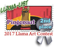 2nd place Llama list 2017 by dragondoodle