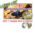 1st place Llama list 2017 by dragondoodle
