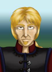 Elvgeni (Gen) Naytil Portrait by dragondoodle