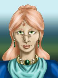 Kadri Skoveng Dell Portrait by dragondoodle