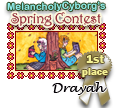 1st Place MC Spring Contest by dragondoodle