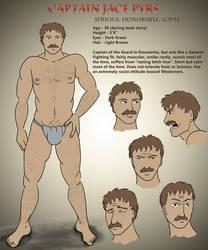 Captain Jace Pyrs - Profile by dragondoodle