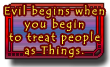 Evil begins - Pratchett Quote by dragondoodle