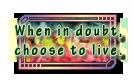 When in doubt - Pratchett Quote