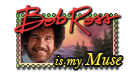 Bob Ross Stamp