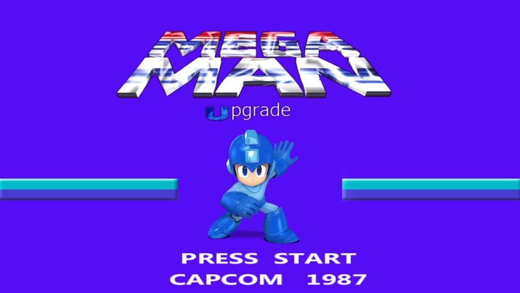 Mega Man Tittle Screen Idea