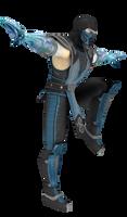 MKvsDCU Sub-Zero Posing #3