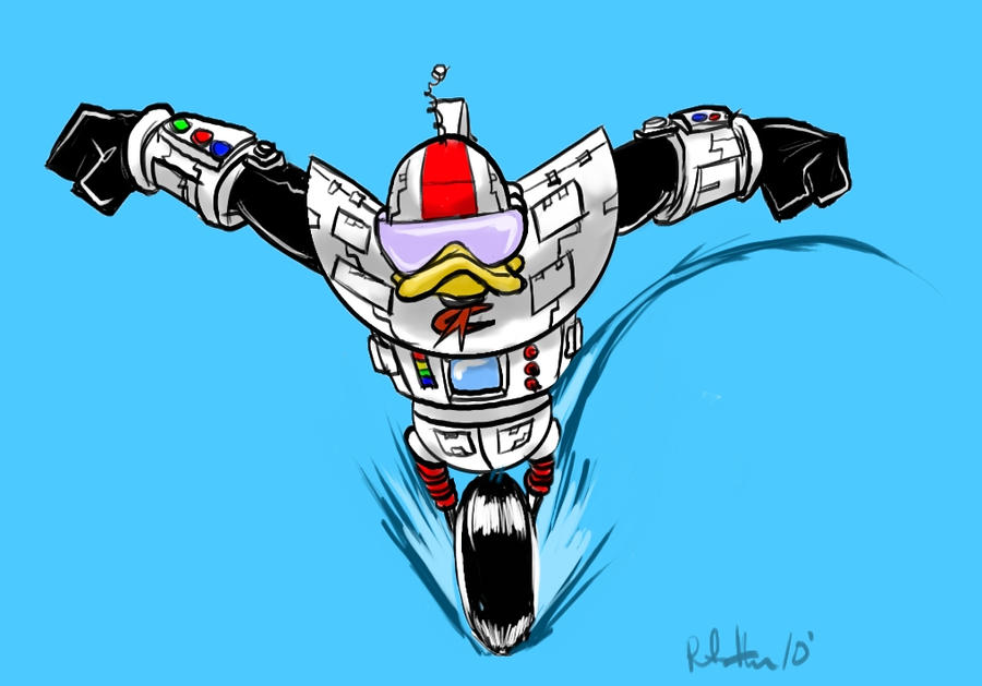 Gizmo Duck By Peter Hon On Deviantart