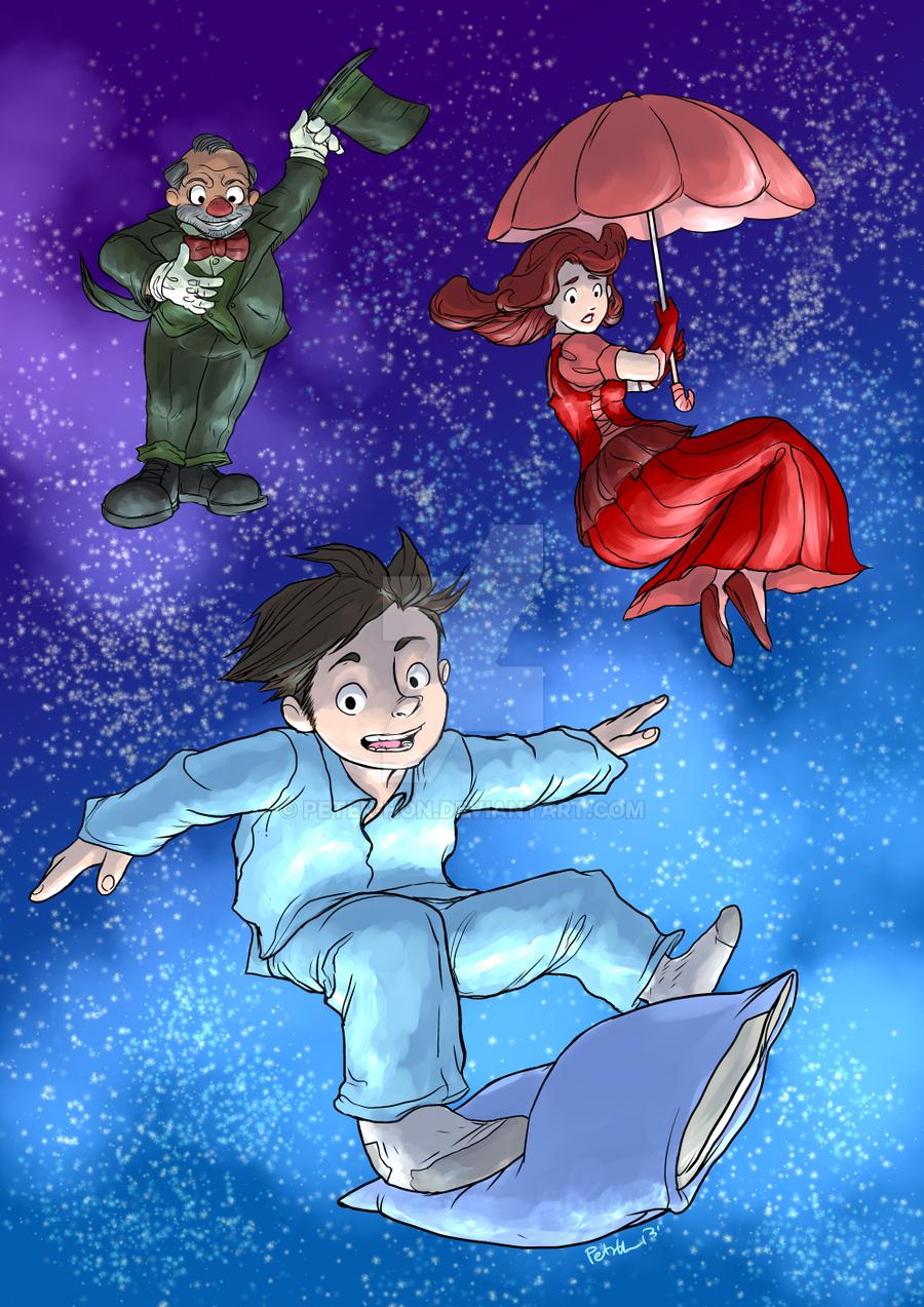 Little Nemo in Dreamland fanart by Peter-Hon