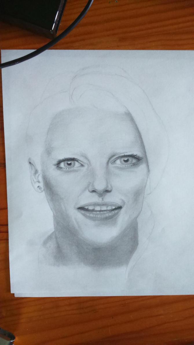 Portrait WIP by Reeban