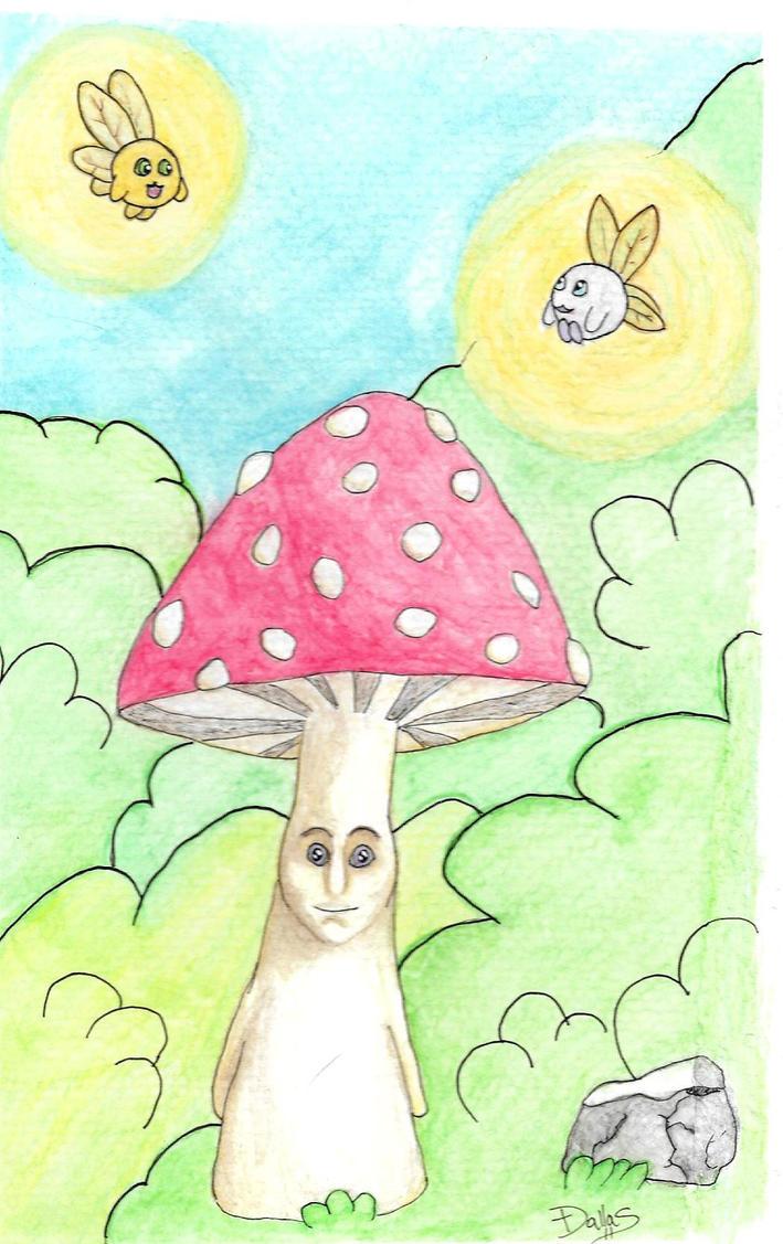 Mushroom Sprite by Dal-Vadar