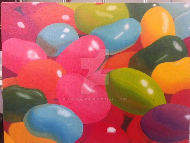 Jelly beans by Dal-Vadar