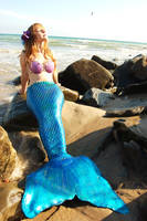 Mermaid at the Beach 1 by pixi996