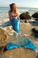 Mermaid at the Beach 2 by pixi996