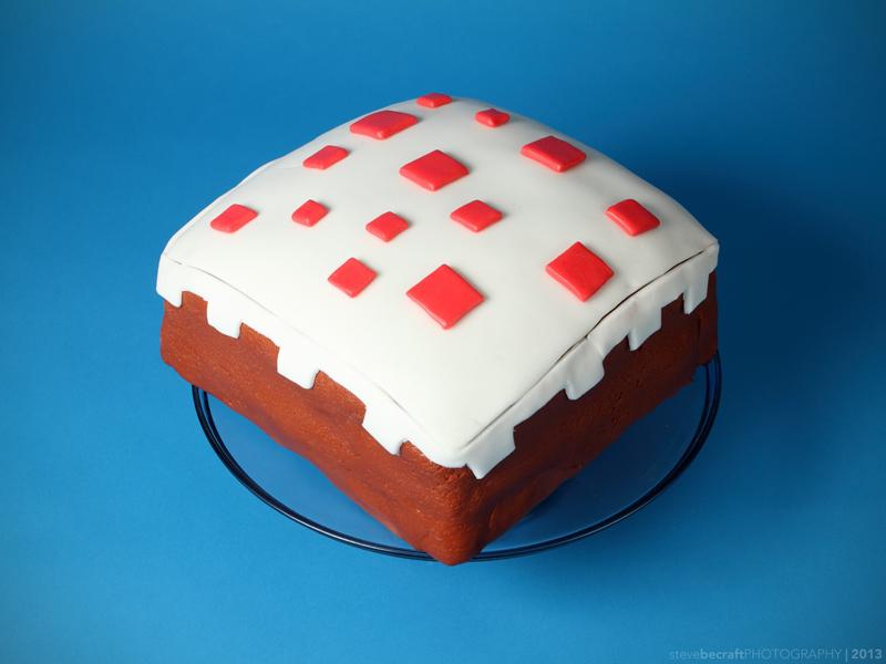 Minecraft Cake 2 by pixi996