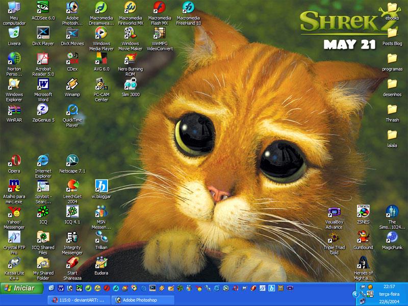 puss in boots desktop - photo #24