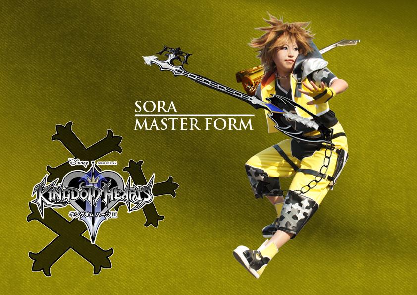 KH Sora Master Form by amayaren on DeviantArt
