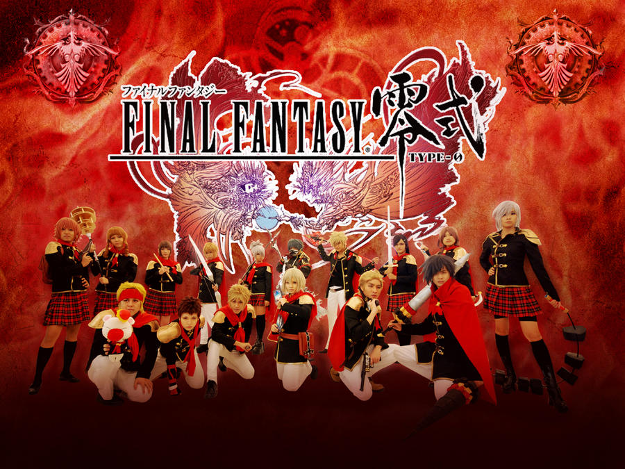 Final Fantasy Type-0 by amayaren