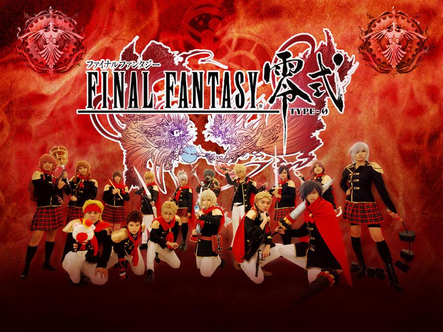 Final Fantasy Type-0 by amayaren