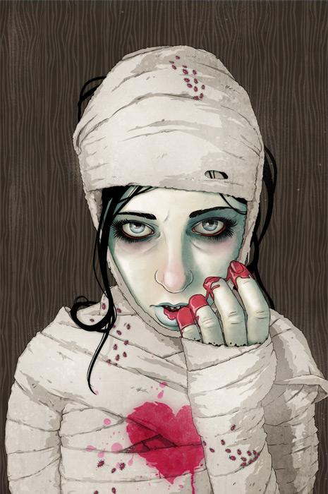 Bloody Mummy by stuntkid