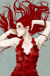 Rose Red by stuntkid