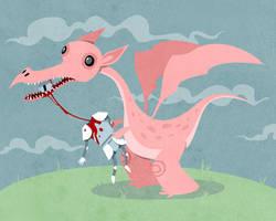 Dragon Snack by stuntkid