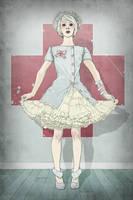Freyagushi Nurse by stuntkid