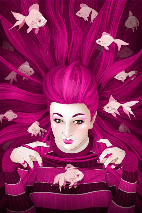 Xanthia Pink by stuntkid