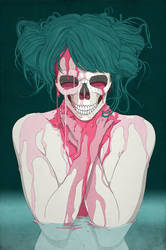 Amanda's Skull by stuntkid