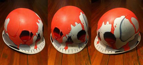 Skull Helmet by stuntkid