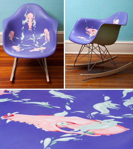 CACV Eames chair collaboration by stuntkid