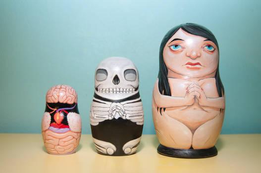 Anatomical Nesting Doll