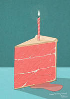 Meat Cake by stuntkid
