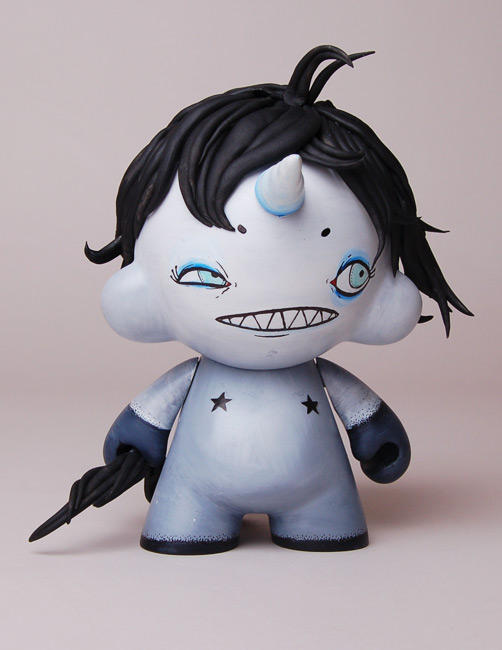 Customized  Uni Munny by stuntkid