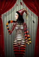 caterpillar girl by stuntkid