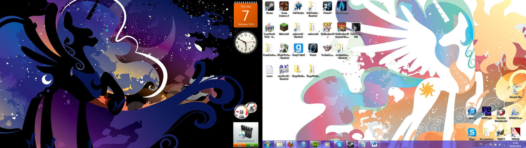 New Desktop...s by Axquirix