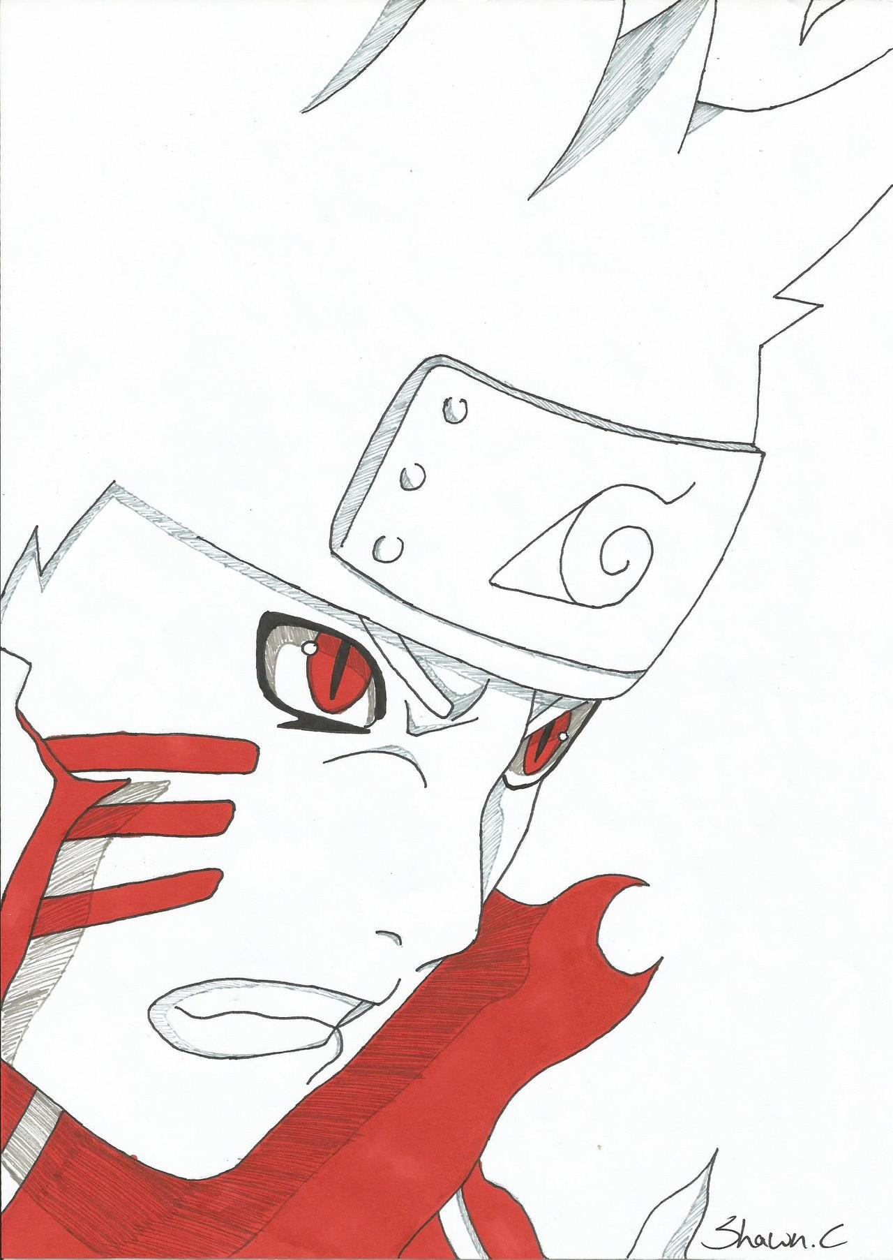 Naruto Bijuu Mode by NeXusShawn on DeviantArt