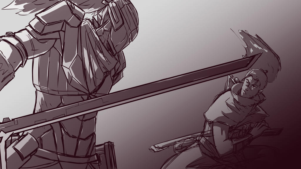 Classic Yasuo Vs Project WIP 1 By ShinsArt