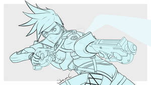 Overwatch - Tracer (WIP 2)