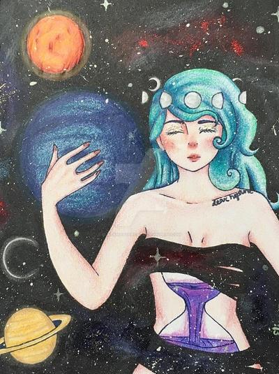 Dear Neptune by blackmattercat
