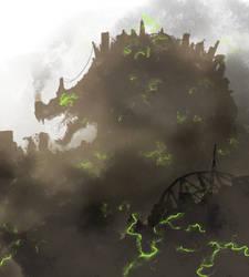 City-Eating City Kaiju by UnoSombrero