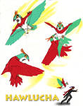 Hawlucha: Obviously a Giant Hummingbird