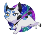 AT: Space kitty???? by TessuDraws