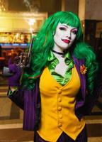 Fem Joker cosplay by HydraEvil