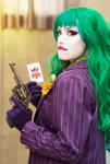 Fem Joker  cosplay