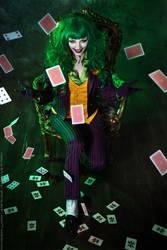 Female Joker cosplay 1