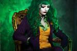 Female Joker cosplay 4