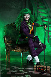 Female Joker cosplay 6
