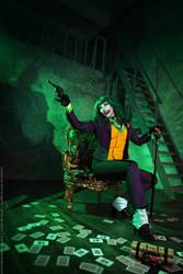 Female Joker cosplay 7