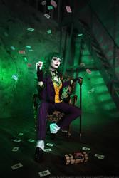 Female Joker cosplay 8